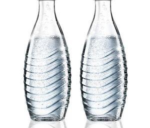 2x SodaStream Ersatz Glas-Karaffe / Ohne Deckel - ohne OVP!