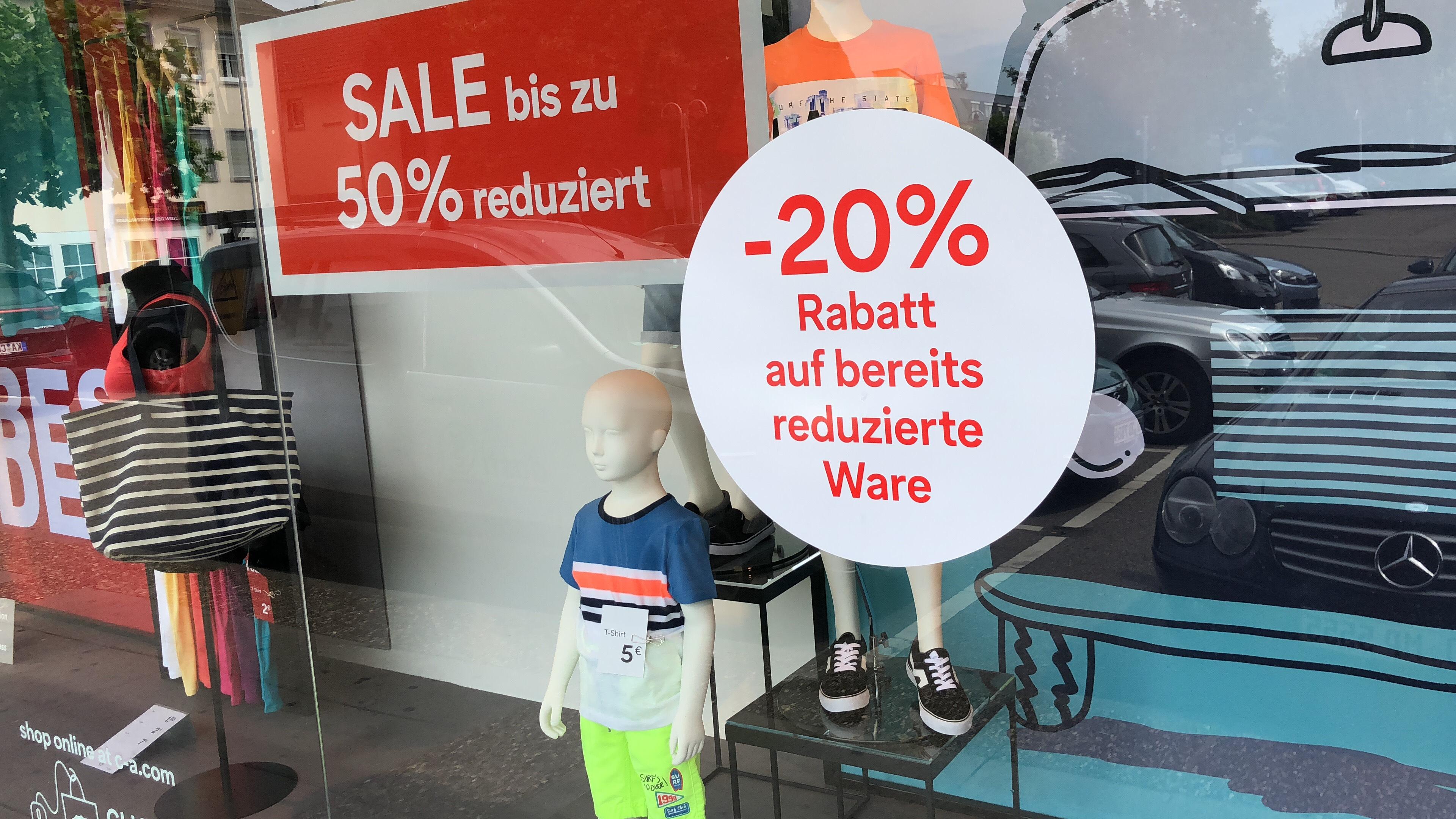 [Bundesweit - C&A] 20% Rabatt auf bereits reduzierte Ware