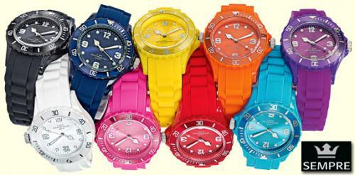 [ALDI SÜD] Color Watches in versch. Farben 3 Jahre Garantie für 7,99€