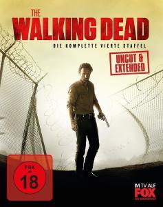 The Walking Dead - Die komplette vierte Staffel Uncut / Extended (Blu-ray) für 12,99€ versandkostenfrei (Saturn)