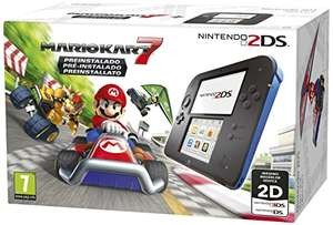 [Amazon MP] Nintendo 2DS schwarz-blau inkl. Mario Kart 7
