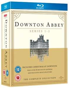 Downton Abbey - Staffel 1-3 (Blu-ray) (OT) für 6,30€ (Zoom.co.uk)