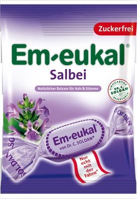 Em-Eukal Salbei-Bonbons inkl. Versand für 1,50 €