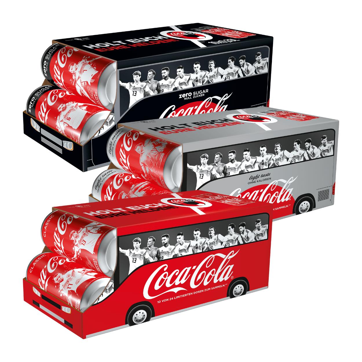 [Aldi Nord] 10 Dosen Coca Cola a 0.33l im WM Karton. Knapp 36 Cent je Dose. Ab Freitag 22.6.