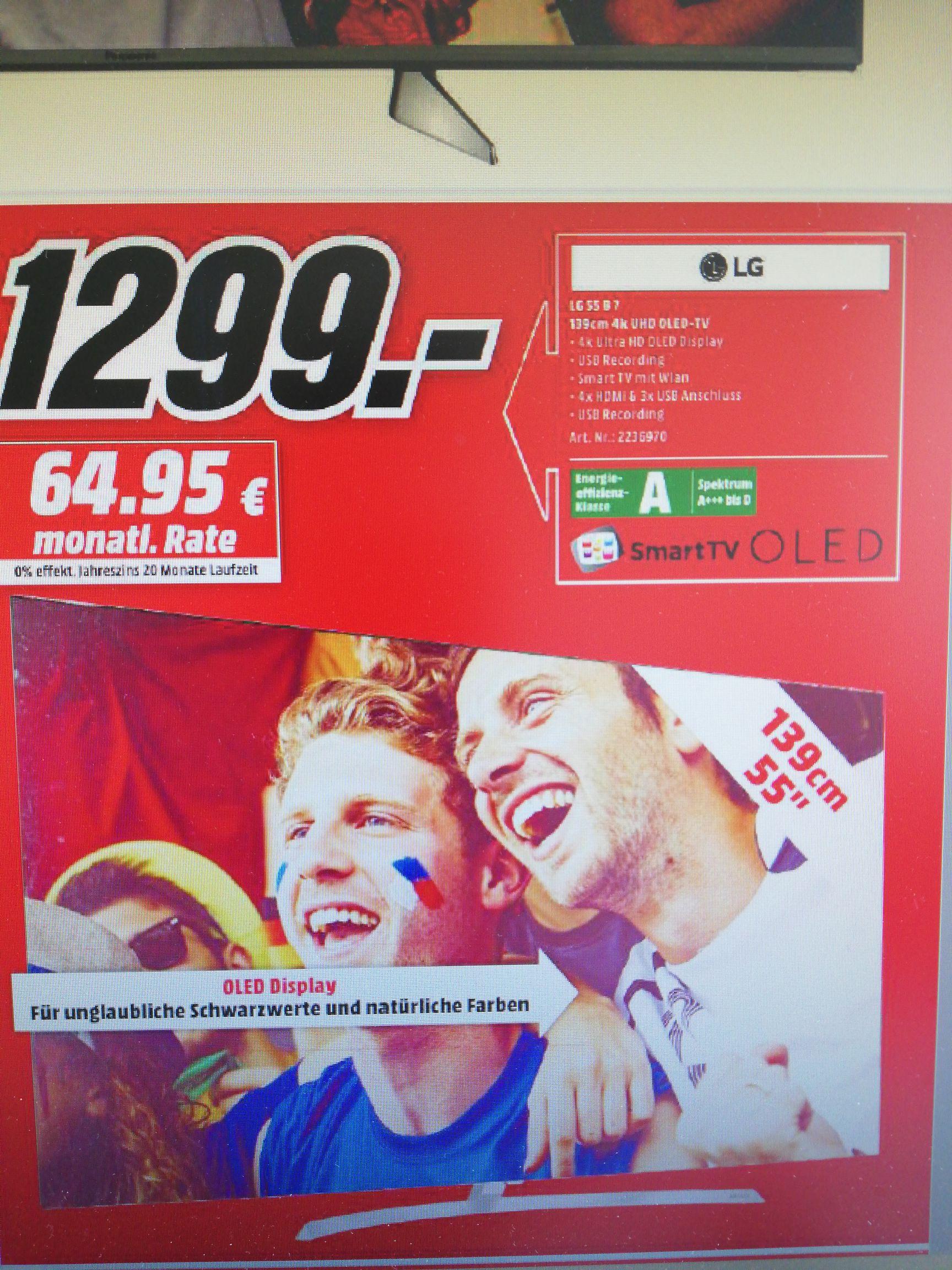 [LOKAL Bremerhaven/Wilhelmshaven] LG OLED 55 B7