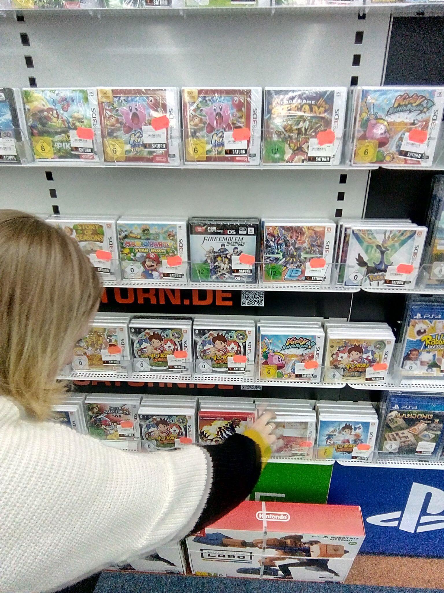 Saturn Hilden (NRW) Jedes 3ds Spiel 5€