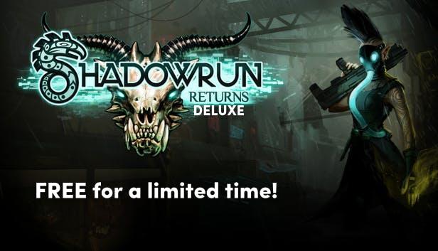 Shadowrun Returns Deluxe (Steam) kostenlos [Humble Store]