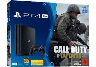 [Mediamarkt] SONY PlayStation 4 Pro 1TB Schwarz + Call of Duty WWII + That's You Voucher für 377,-€