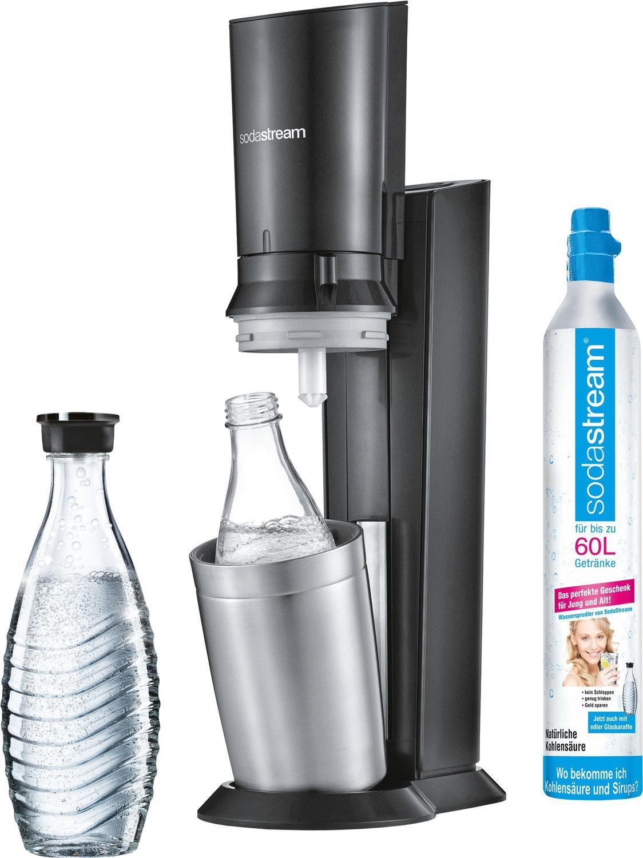 SodaStream Crystal 2.0 Trinkwassersprudler (schwarz) für 79€ [Mediamarkt]