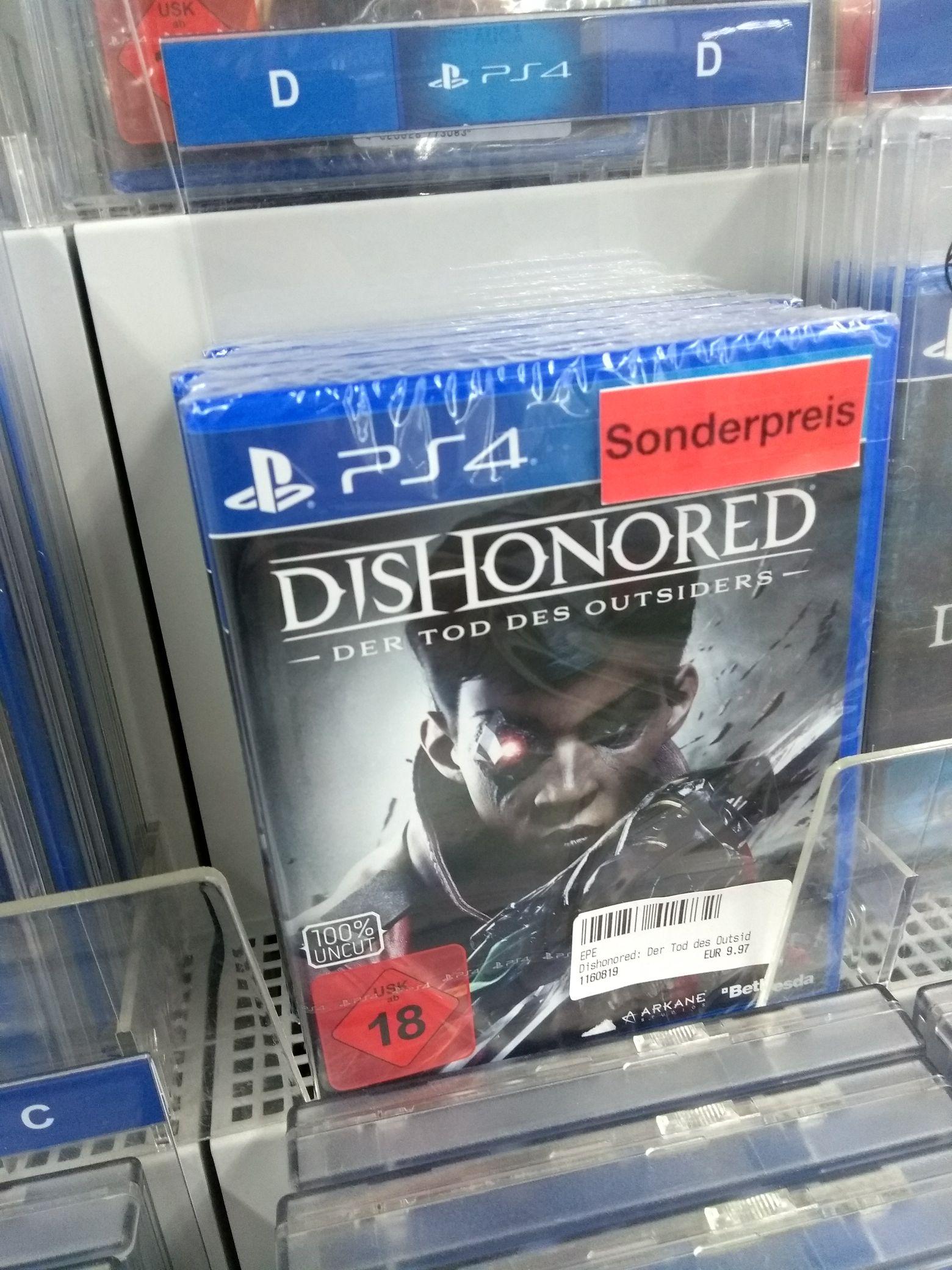 [Lokal Oranienburg MediMax] Dishonored: Der Tod des Outsiders PS4 Spiel