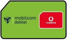 MD Vodafone ganz kleiner SIM only Vertrag: 2GB, 14.4 MBit, 50 SMS + 50 FreiMinuten, Hotspot Flat