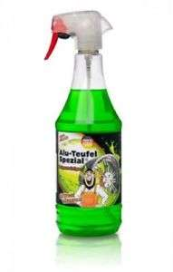 1 L-Flasche Tuga Felgenreiniger Alu-Teufel Spezial für 8,29 € bei eBay (in Kombination mit Gutscheincode PALME5)