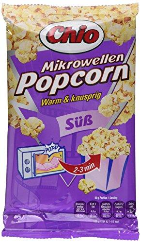 Chio Mikrowellen Popcorn süß oder karamell, 22er Pack (22 x 100 g)