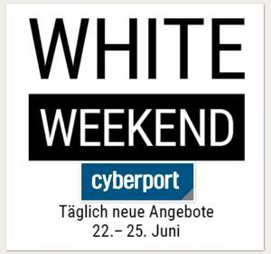 Cyberport White Weekend u.a. Apple Airpods für 133,99€, iPad 2018 32GB für 293,99€, Pencil für 83,99€, Honor 10 für 333,99€, Huawei Mate 10 lite 213,99€ (mit Check24 Gutschein)