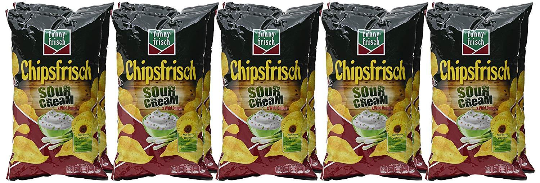 funny-frisch Chipsfrisch - 10er Pack (10 x 175 g) - versch. Sorten ab 8,36-8,93 € (5%-Sparabo) bzw. 7,48-7,99 € (15%-Sparabo) @ amazon Sparabo