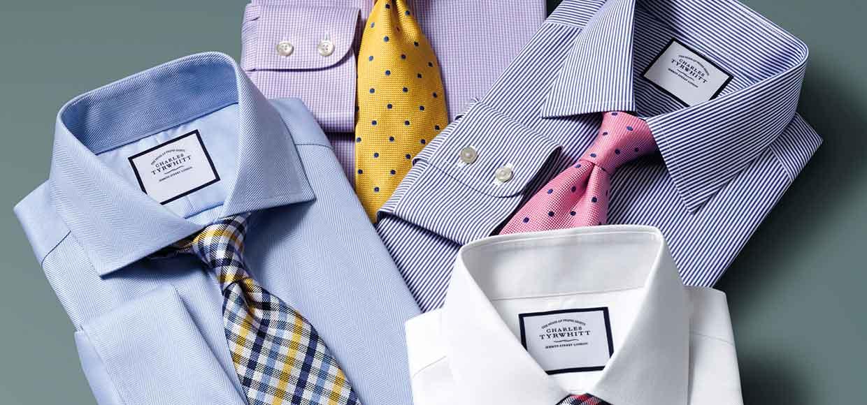 4 Charles Tyrwhitt Hemden ab 99,60 Euro ( + 6,95 EUR Versand)