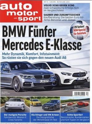 Auto Motor und Sport Miniabo (4 Monate/ 9 Ausgaben) für 31,85 € mit 31,85 € Verrechnungsscheck