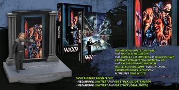 WAXWORK - Mediabook  (Sciotti Motiv) + Büste Lim. 333 Stück [Blu-Ray]