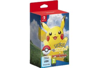 Mediamarkt Geburtstagsangebote - Pokémon: Let's Go, Pikachu/Evoli! + Pokeball Plus Nintendo Switch zum Bestpreis vorbestellen