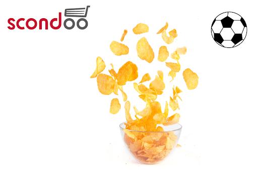 Scondoo: Zur WM 0,30€ Cashback auf Chips (22.-23.6.): z.B. Crunchips für eff. 0,58€ im Kaufland