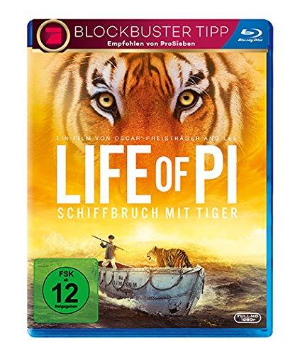 Life of Pi - Schiffbruch mit Tiger (Blu-ray) für 3,67€ (Dodax)