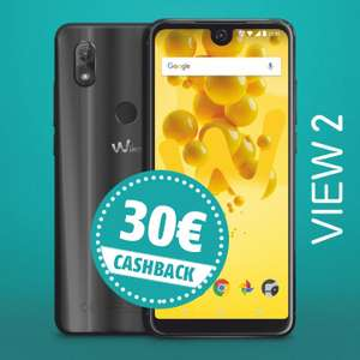 30 Euro Cashback auf das Wiko View 2 bei Vorteile.de - Preis nach Cashback 130,10€