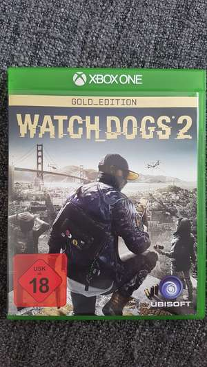 Watch Dogs 2 Gold Edition xbox one (lokal Saturn Ludwigsburg)