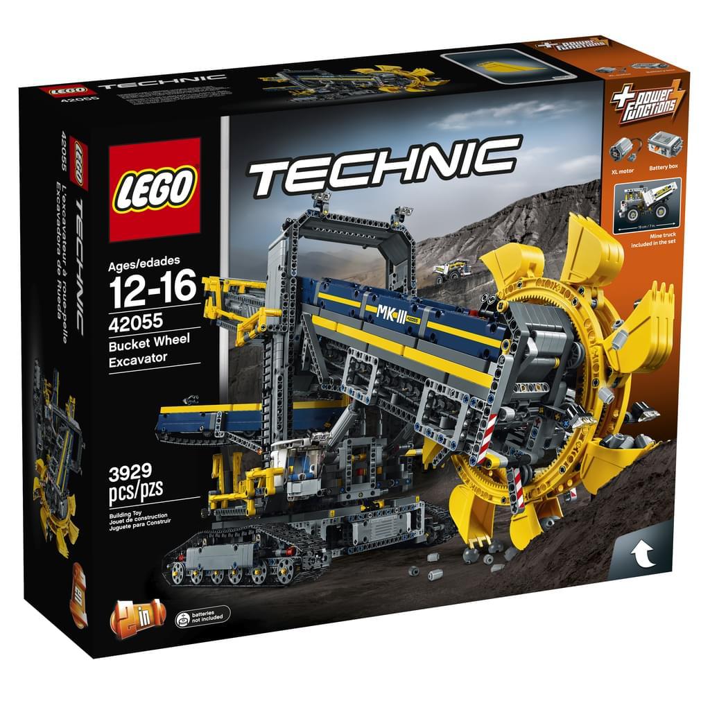 Lego Schaufelradbagger bei Real Online für 144 Euro 5 Euro Newsletter