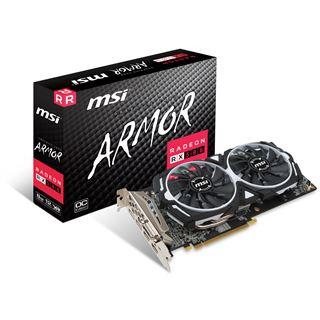 MSI Radeon RX 580 Armor 8G OC Aktiv PCIe 3.0 x16