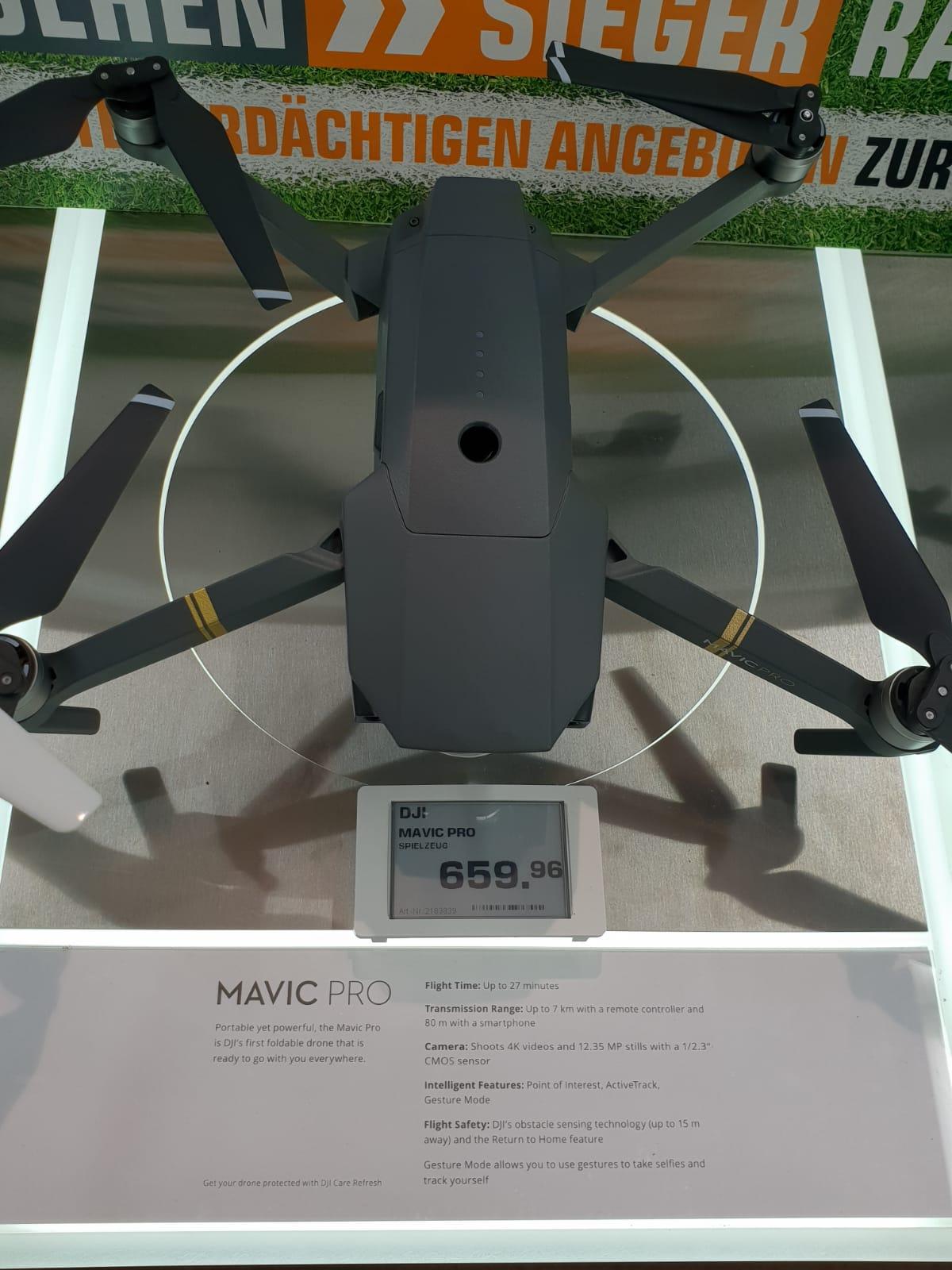 DJI Mavic Pro (Lokal - Saturn Hanau)