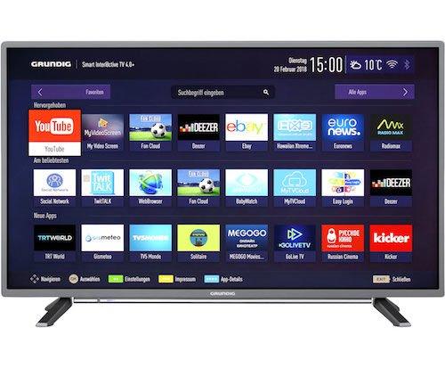 [ao.de] Grundig TVs im Angebot - Grundig 43 GFT 6728 (Full HD) für 279€ und Grundig GUB 9790 für 979 €