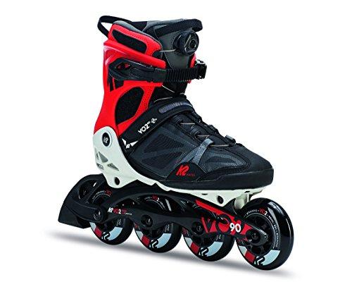 [Amazon] K2 Fitness-Skates VO2 90 Boa M Herren Inline Skates (Softboot, Kugellager ILQ 9, Rollenhärte 83A)