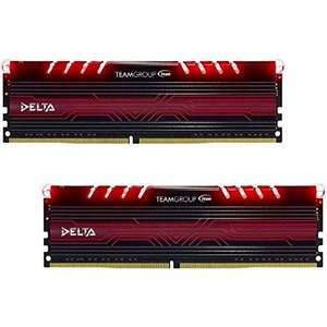 Team Group Delta Series 16GB Kit DDR4 PC4-19200 CL15 für 106,69€ (Amazon.fr)