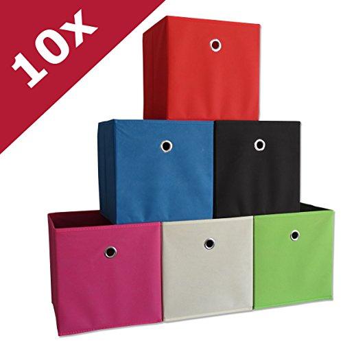 10er Set Faltboxen (Farbwahl)