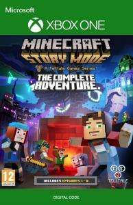 Minecraft: Story Mode Complete Adventure (Episodes 1-8) (Xbox One Download Code) für 3,22€ (CDKeys)