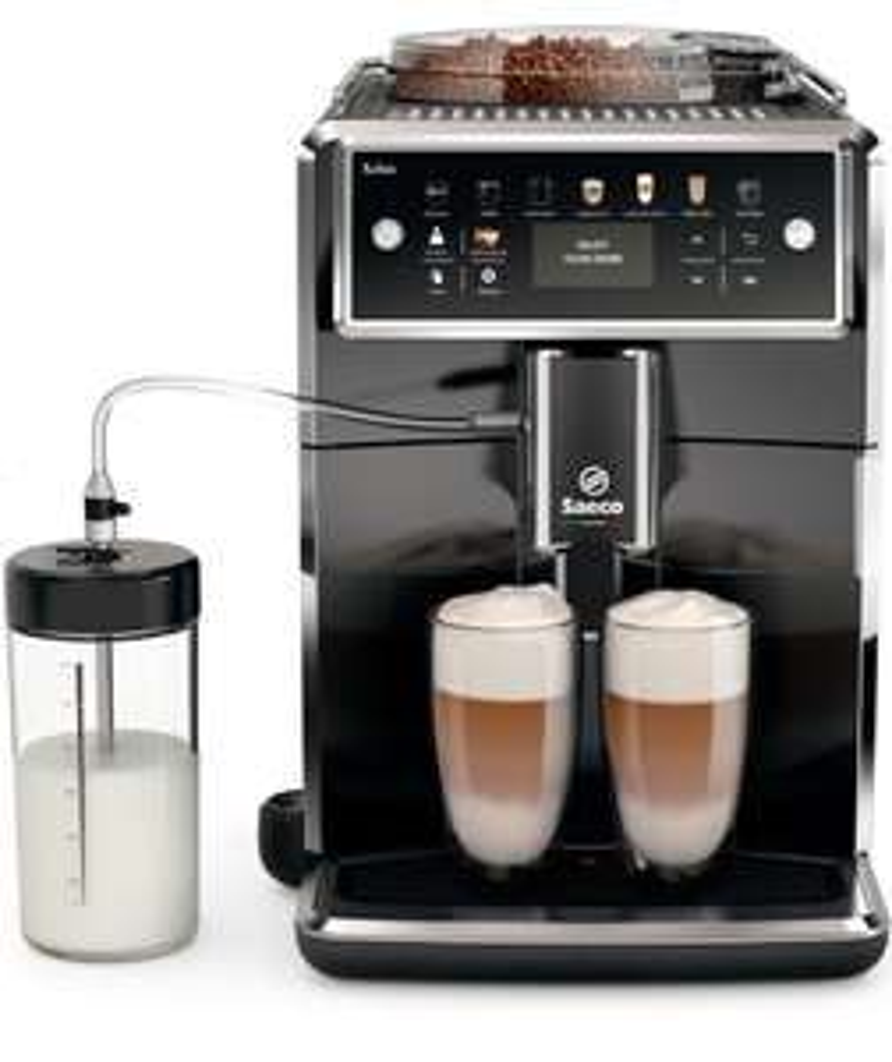 Saeco Xelsis SM7580/00 Kaffeevollautomat, LED Display, pianoschwarz - Neu & OVP