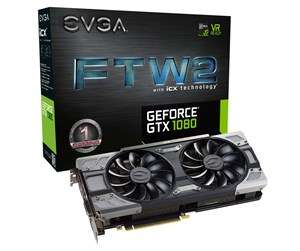 EVGA GeForce GTX 1080 FTW2 GAMING iCX - 8GB GDDR5X RAM - Grafikkarte