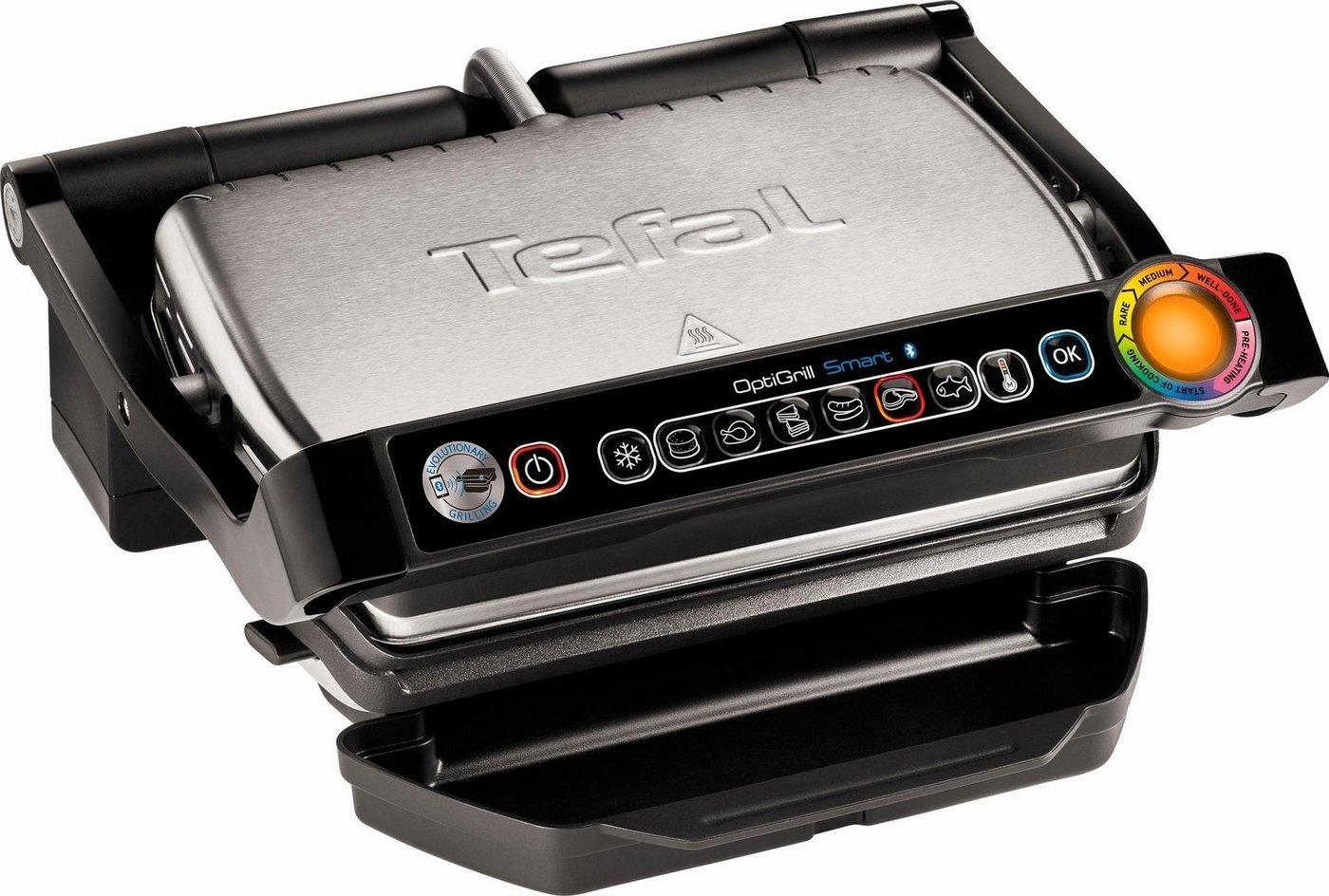 TEFAL Bluetooth-Elektrogrill Optigrill GC730D für 149,99€ [brands4friends]