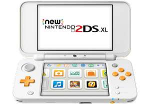 [Saturn] NINTENDO New Nintendo 2DS XL (Weiß/Orange) Tragbare Konsole, Weiß/Orange für 111,-€