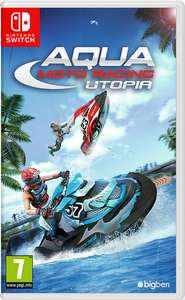 Aqua Moto Racing Utopia (Switch) für 13,60€ (Amazon IT & GameStop)