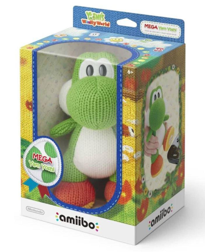 Nintendo Mega Yarn Yoshi (Amiibo) nur in BENELUX