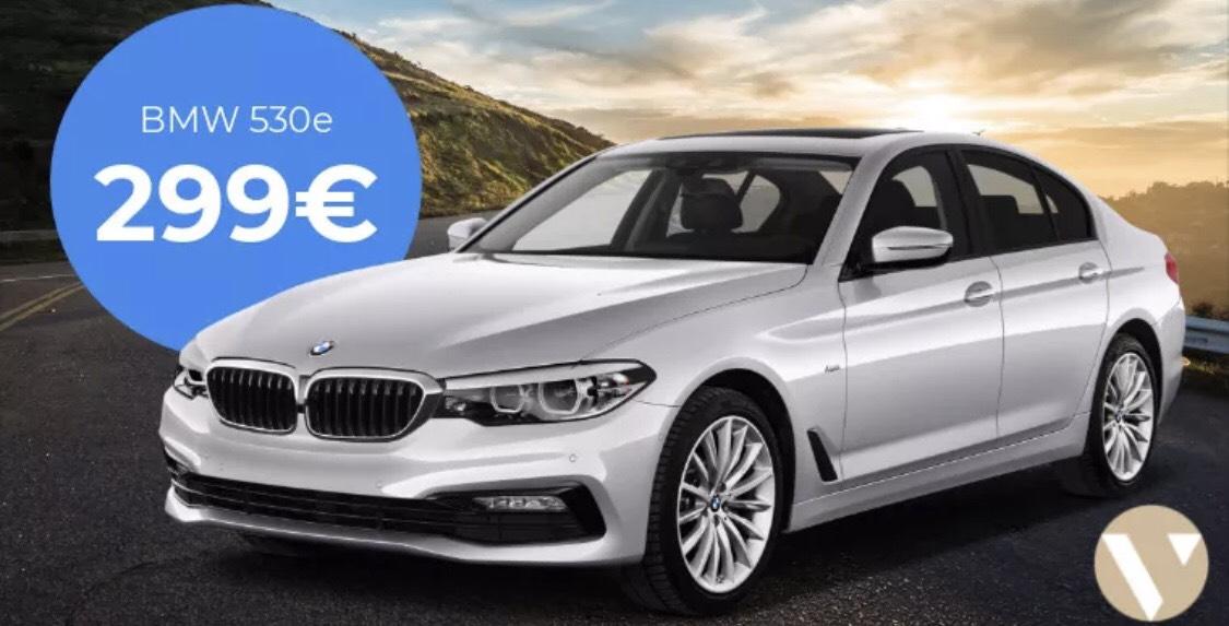 BMW 530e Limousine iPerformance Steptronic 299 monatlich [Gewerbeleasing]
