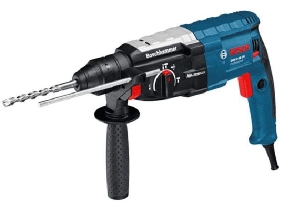 Bosch Professional GBH 2-28 DV Bohrhammer mit SDS-plus, bis 28 mm Bohr-Ø (850 W, Koffer) für 164€ [Real]
