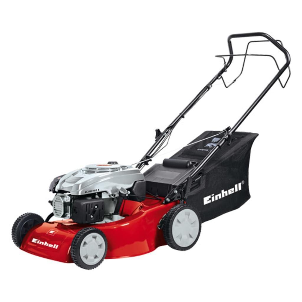 Einhell Benzin-Rasenmäher GC-PM 46/1, 2 kW, 46 cm, Radantrieb für 164€ [Real]