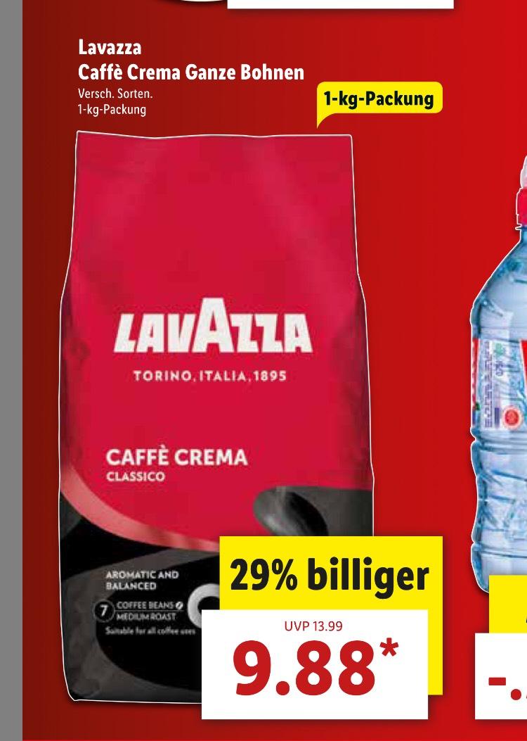 Lavazza Caffe Crema Classico Bohnen 1kg