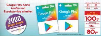 [Netto MD] Bis zu 20% Cashback auf Google Play Guthaben durch Deutschlandcard