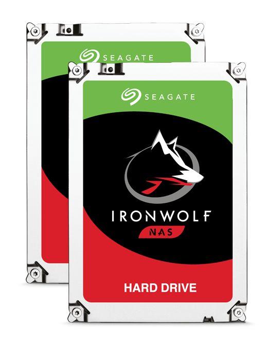 [cyberport] Seagate 2er Set IronWolf NAS HDD ST6000VN0033 - 2x 6TB 7200rpm 256MB 3.5zoll CMR