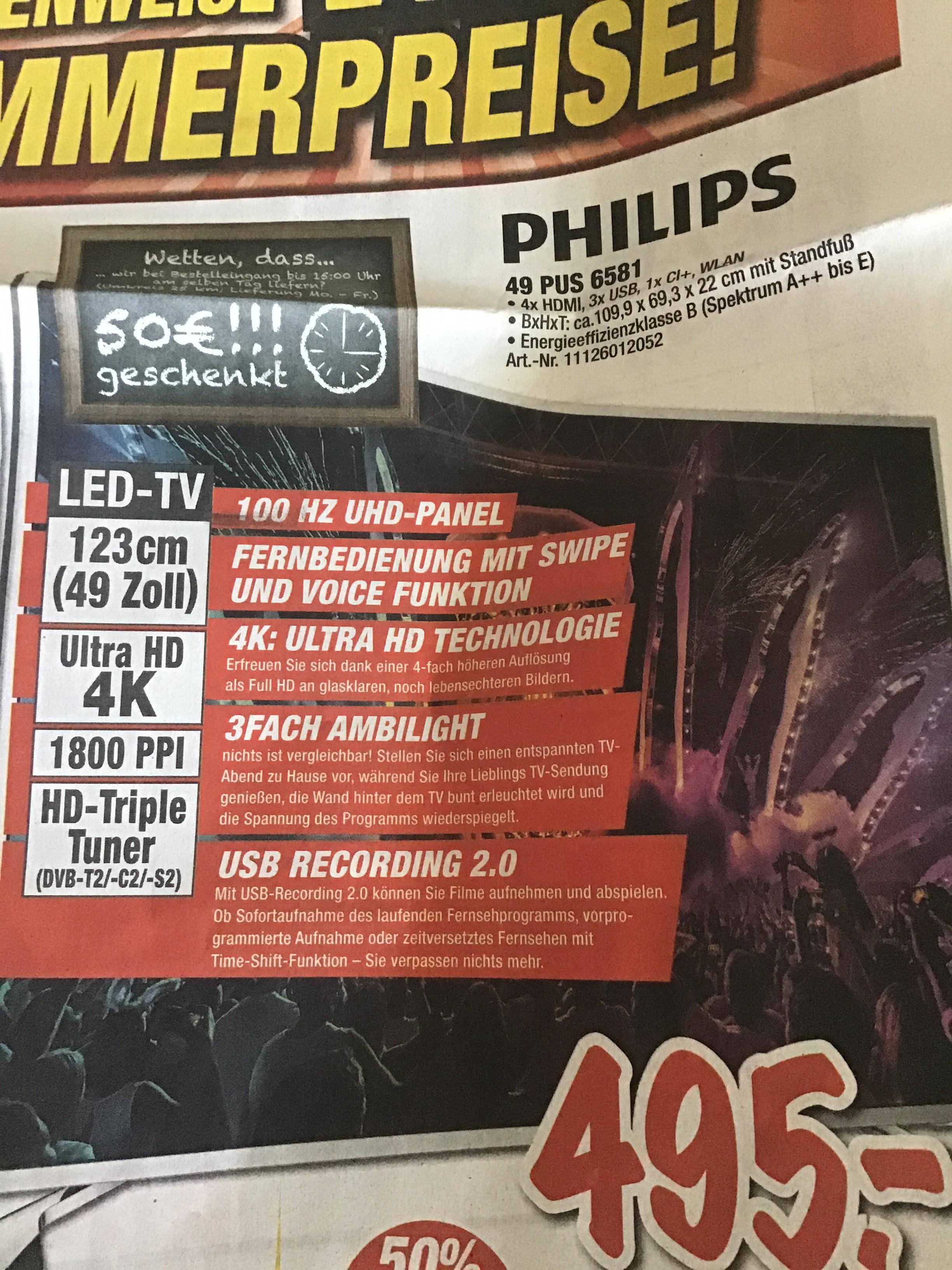 Philips 49 PUS 6581 expert (Lokal Stgt. Plochingen/Deizisau)