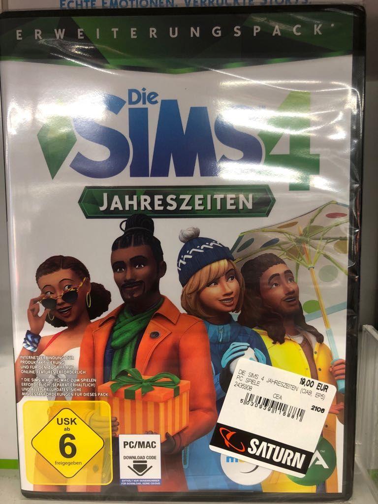[Lokal Berlin] Saturn Alexanderplatz - Die Sims 4 Jahreszeiten (PC) - 19€