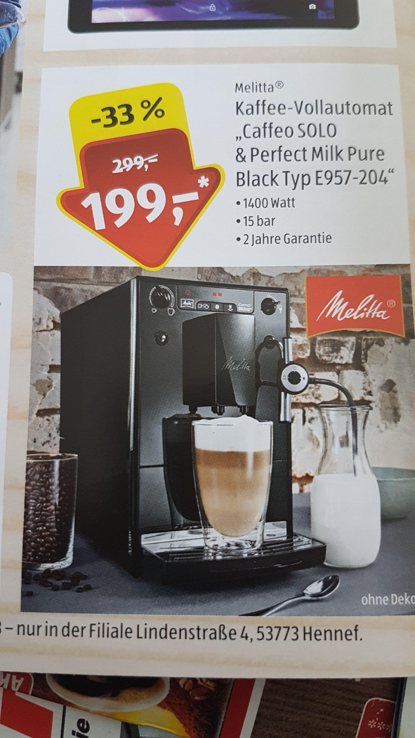 Melitta Caffeo SOLO & Perfect Milk Pure Black Typ E957-204 [LOKAL]